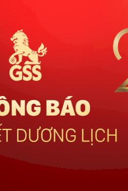 [GSS] Thông báo nghỉ tết Dương Lịch 2021